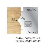 Whitehill Serrated Cutter no.3142 Cutter  [pr]