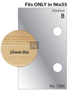 Whitehill 25mm Dowel Limiter 1360