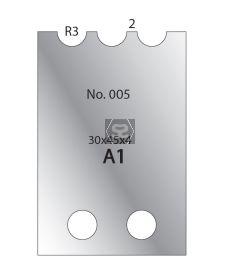 Whitehill 30mm Cutters [pr]  no.005