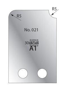 Whitehill 30mm Cutters [pr]  no.021
