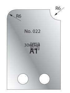 Whitehill 30mm Cutters [pr]  no.022
