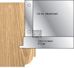 Whitehill 21 Weather Seal Head 129 x 14 d=1 1/4