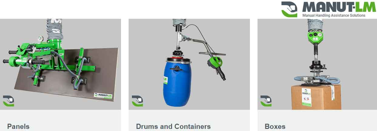 Manut LM Vacuum Lifting Solutions