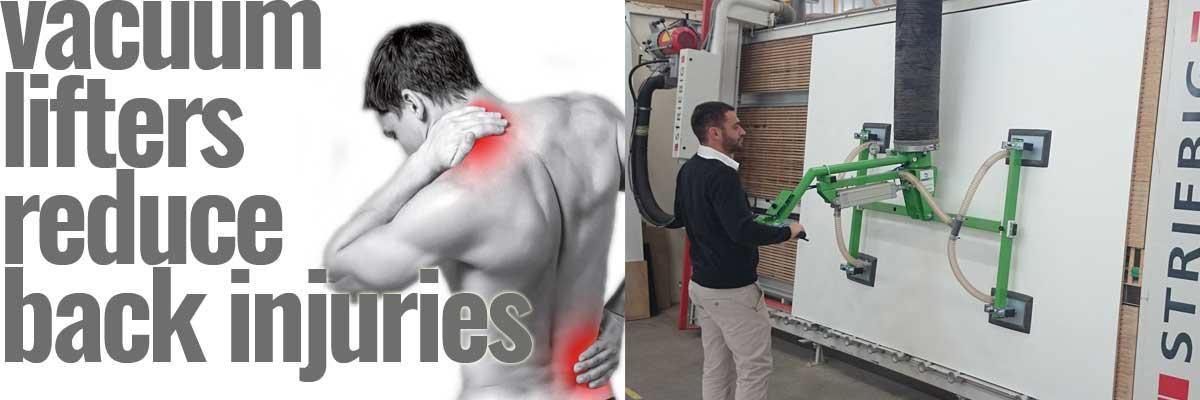 vacuum lifters reduce injury